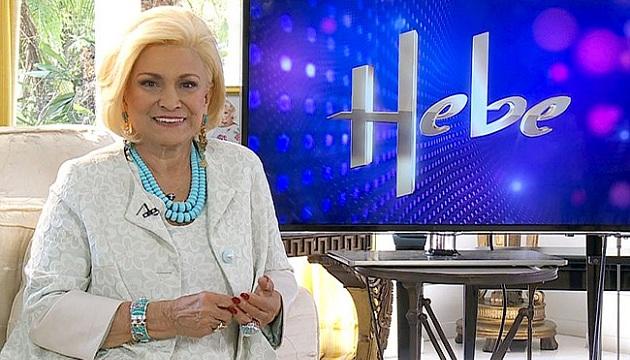 421760 Hebe Camargo grava chamada para seu programa na RedeTV Hebe Camargo grava chamada para seu programa na RedeTV!
