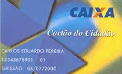 421877 cartao cidadao caixa economica federal Cartão cidadão, CAIXA   informações