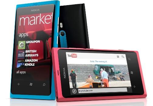 423171 smartphone Nokia Lumia 800 Lançamentos de smartphones no Brasil 2012