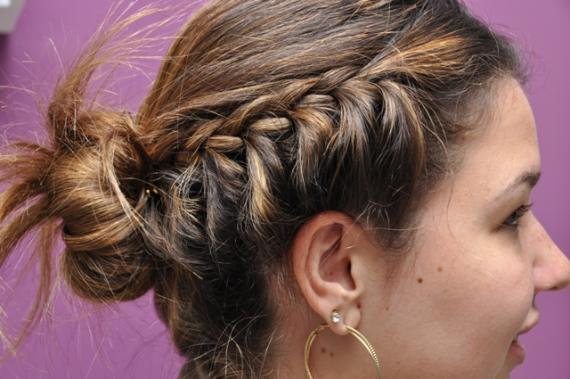 423892 penteados com tran%C3%A7as laterais 2 Penteados com tranças laterais