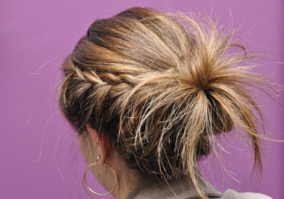 423892 penteados com tran%C3%A7as laterais 4 Penteados com tranças laterais