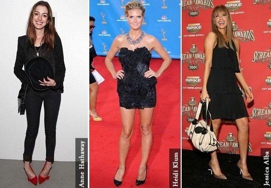 423968 As celebridades já apostam no look com calçados de bico fino 1 Sapatos de bico fino inverno 2012