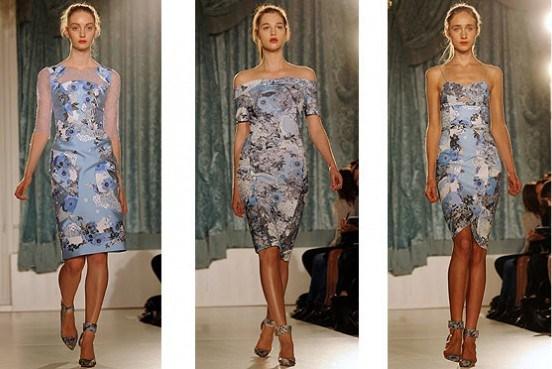 424052 Estampas florais em tons discretos trazem uma delicadeza especial Modelos de vestidos casuais