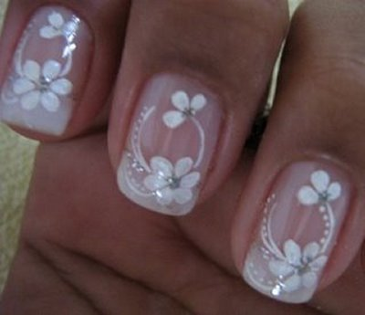 426370 unhas decoradas com flores fotos 2 Unhas decoradas com flores: fotos
