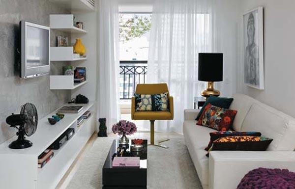 decoracao de sala para homens solteiros:426771 sala de estar 2 Dicas de decoração para casa de solteiro