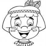 427676 Dia do índio – Desenhos para colorir 2 150x150 Dia do índio   desenhos para colorir