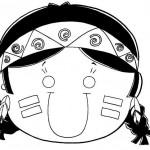 427676 Dia do índio – Desenhos para colorir 5 150x150 Dia do índio   desenhos para colorir