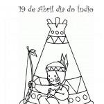 427676 Dia do índio – Desenhos para colorir 7 150x150 Dia do índio   desenhos para colorir