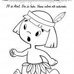 427676 Dia do índio – Desenhos para colorir 9 150x150 Dia do índio   desenhos para colorir
