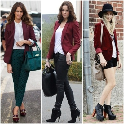 428158 Cor Burgundy moda inverno 2012 2 Cor Burgundy moda Inverno 2012