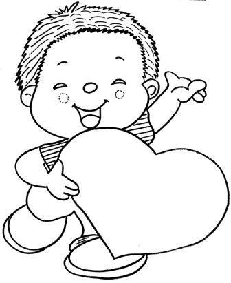428204 Dia das Mães desenhos para colorir 1 Dia das mães   desenhos para colorir