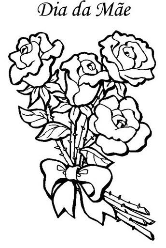 428204 Dia das Mães desenhos para colorir 6 Dia das mães   desenhos para colorir