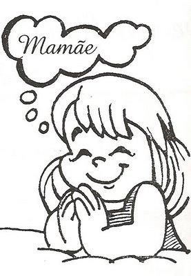 428204 Dia das mães desenho para colorir 6 Dia das mães   desenhos para colorir