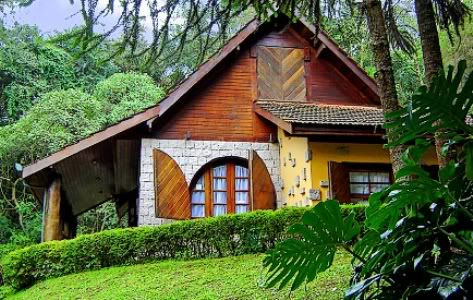 Casas de campo fotos for Modelos cabanas rusticas pequenas