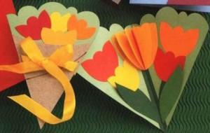 Cartões de Dia das Mães: passo a passo
