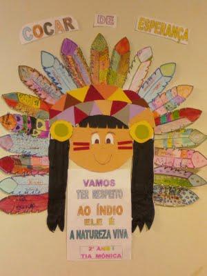 430011 Dia do índio na educação infantil 1 Dia do índio na educação infantil