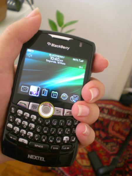 430303 BlackBerry Curve  Blackberry com Nextel: preços, planos