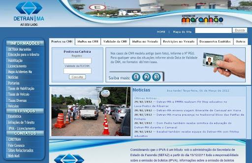 431362 Detran MA 1 Detran MA, consulta multas, ipva, licenciamento