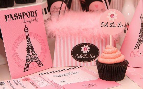 432403 Decoração de festa com tema Paris 4 Decoração de festa com tema Paris