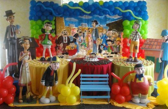de festa com tema Chaves 5 Decoração de festa com tema Chaves