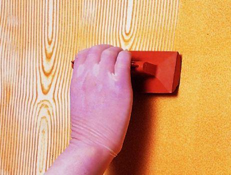 Como fazer efeito madeira na parede passo a passo