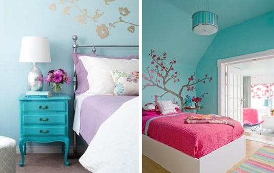 decoracao azul e amarelo quarto – Doitri com