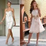 435441 Vestidos de noiva curtos fotos 11 150x150 Vestidos de noiva curtos: fotos