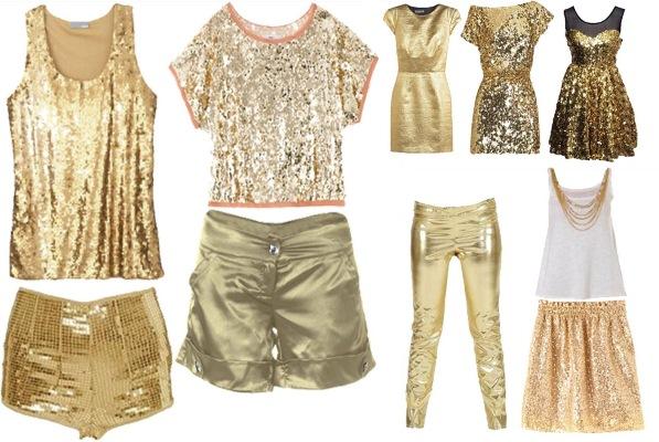 435449 looks dourados Dourado: moda inverno 2012
