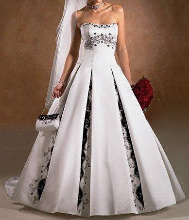 435549 Vestido de noiva diferente fotos 16 Vestidos de noiva diferentes: fotos