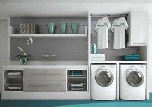 435923 Decoração de lavanderia pequena Decoração de lavanderia pequena