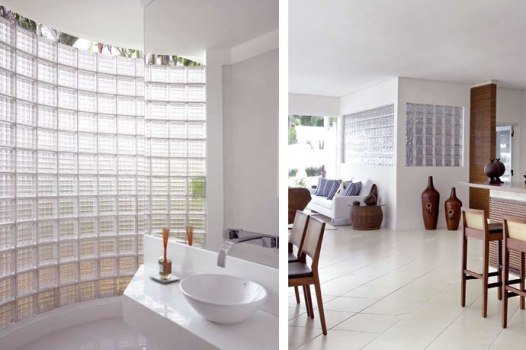 436959 Tijolos de vidro na decoração formas de usar fotos 5 Tijolos de vidro na decoração: formas de usar, fotos