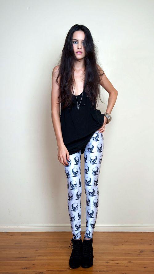 437581 Cal%C3%A7a legging estampadas como usar 5 Calça legging estampadas: como usar