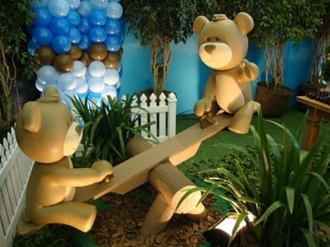 438010 Decoração de festa infantil tema Ursos 10 Decoração de festa infantil tema Ursos