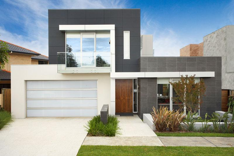 Casas com fachadas modernas fotos for Fachadas casas modernas