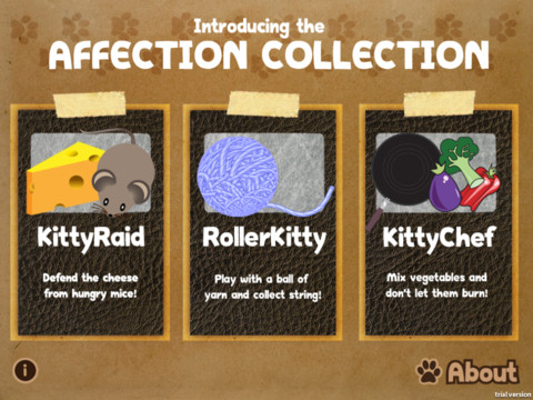 440488 Affection Collection 3 Affection Collection: jogos em tablet para gatos