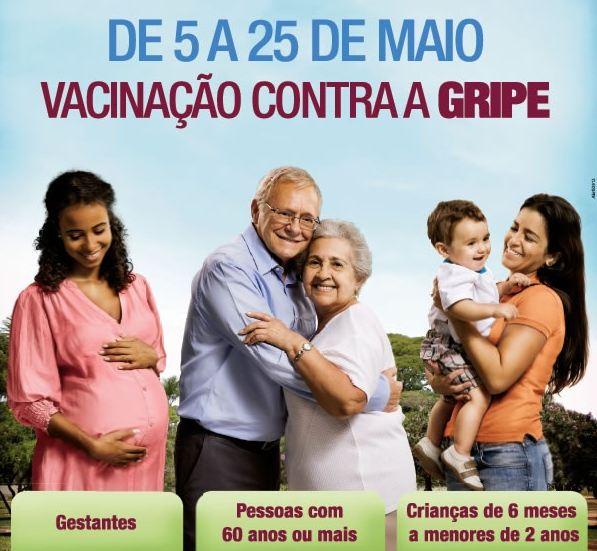 440536 campanha de vacinacao contra a gripe Começa campanha de vacinação nacional contra a gripe