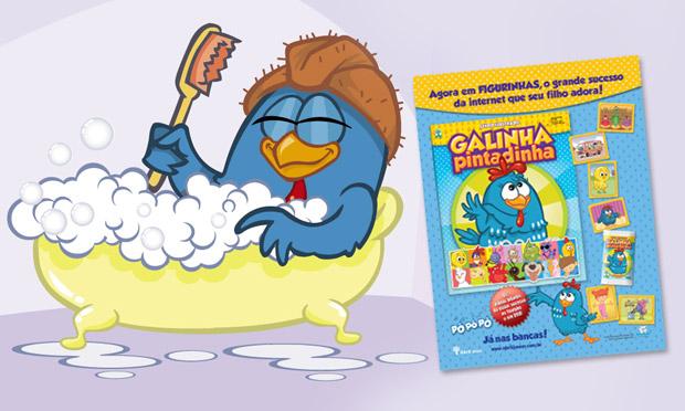 440607 %C3%81lbum de figurinhas Galinha Pintadinha 3 Álbum de figurinhas Galinha Pintadinha