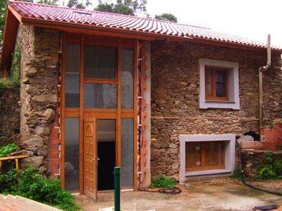Fachadas de casas r sticas fotos for Casas rusticas pequenas