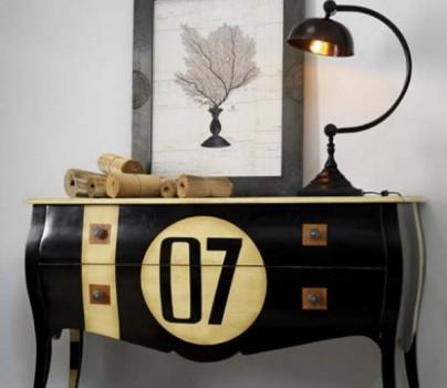 441456 Letras e números na decoração 5 Letras e números na decoração