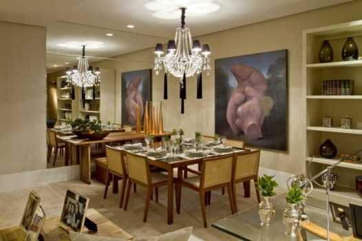 Sala De Jantar Com Tapete De Couro ~  Decorar sua Sala de Jantar 8 Dicas para decorar sua sala de jantar