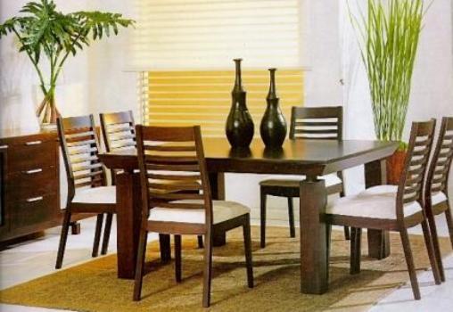 442441 Mesa de jantar para casas pequenas modelos 2 Mesa de jantar para casas pequenas, modelos