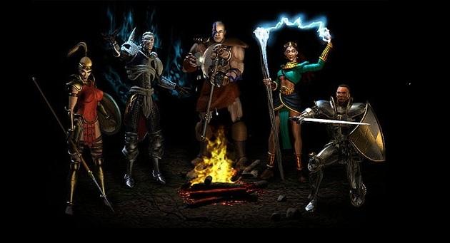 446295 diablo iii characters Servidores de Diablo III abriram na madrugada desta terça feira