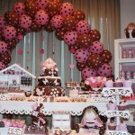 447649 Decoração infantil marrom e rosa 1 150x150 Decoração infantil marrom e rosa