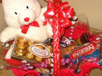 448711 cesta de chocolate para dia dos namorados 1 Cesta de chocolates para Dia dos Namorados