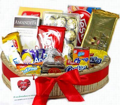 448711 cesta de chocolate para dia dos namorados 2 Cesta de chocolates para Dia dos Namorados