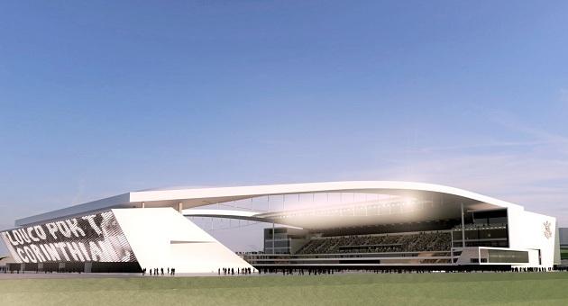 449407 maquete digital da arena do cor1 Construção do Itaquerão poderá chegar a R$ 1 bilhão
