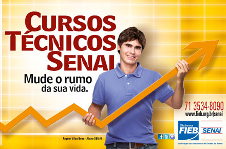 449441 Curso gratuito de Auxiliar de Laboratório Químico SENAI Bahia Curso gratuito de Auxiliar de Laboratório Químico SENAI Bahia