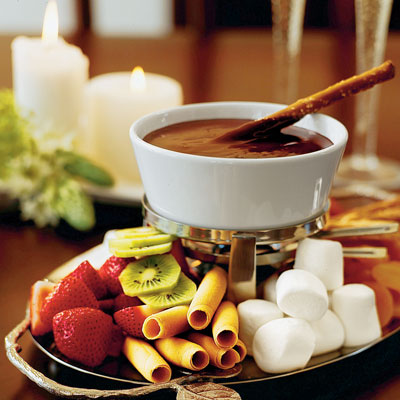 449592 fondue de cholate 1 Fondue de chocolate