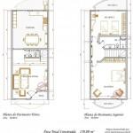 44980 Projetos de sobrados com dois quartos4 150x150 Planta de Sobrados: Pequenos, com 2,3,4 Quartos