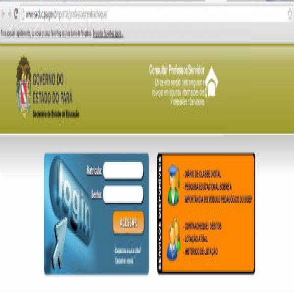 450885 area prefessor seducpa 600x600 Seduc PA   boletim online, lançamento de notas